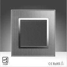 Wallpad alternatív kapcsoló fém szatén