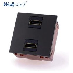 HDMI csatlakozóaljzat, fekete