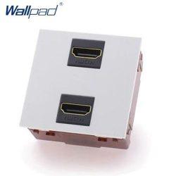 HDMI csatlakozóaljzat, fehér