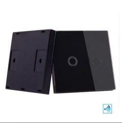 Üvegpaneles távirányító 433MHZ fekete