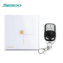 Sesoo S601WY fehér távirányítós egypólusú érintőkapcsoló
