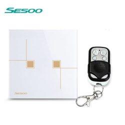 Sesoo S602WY fehér távirányítós érintő csillárkapcsoló