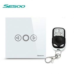 Sesoo T601WY fehér távirányítós fényerőszabályzós kapcsoló